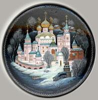 Ипатьевский монастырь (холуйская миниатюра)