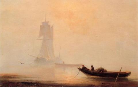 Рыболовное судно в гавани
