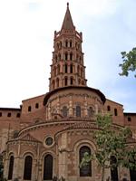 Абсида базилики Сан-Сернен в Тулузе